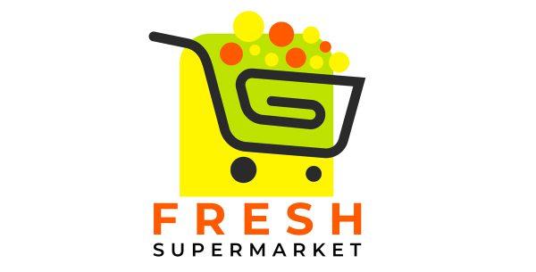 دانلود لوگو shopping supermarket cart